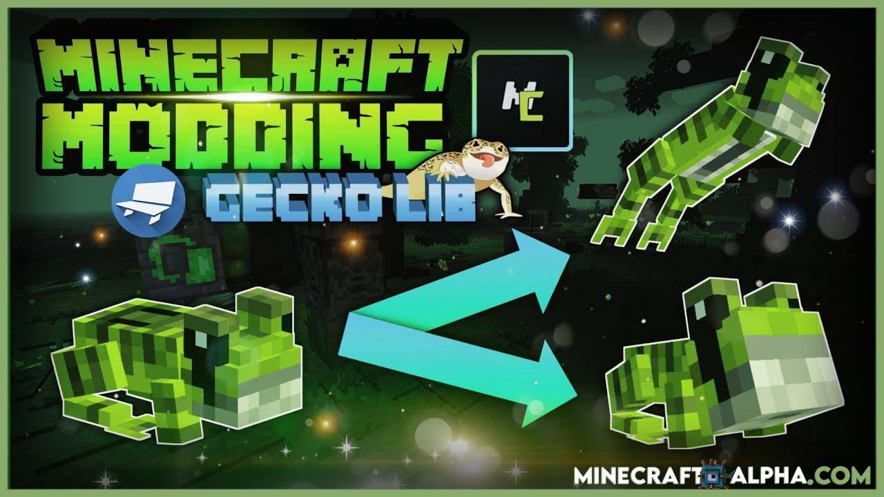 Minecraft GeckoLib Mod 1.17.1 (Bedrock Animation Loading)
