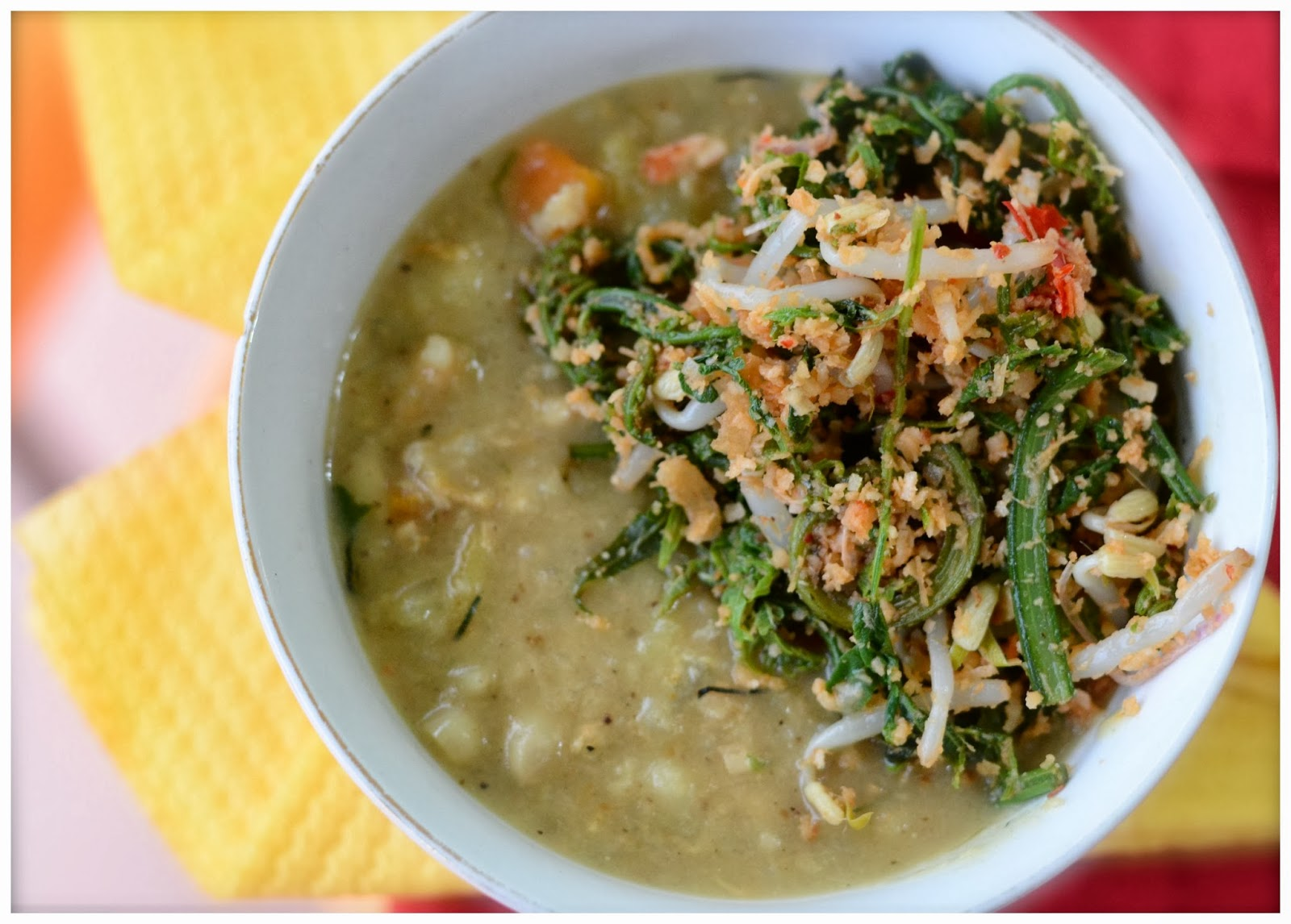Indonesian Medan Food: Bubur Pedas / Bubur Melayu / Deli Porridge