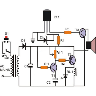 Electronics Projects: Simple Door Bell Timer, with