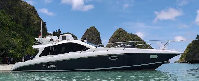 sewa speedboat raja ampat
