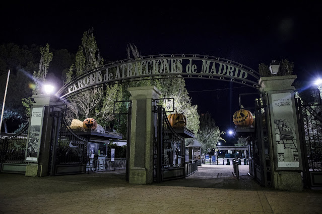 Entrada Parque de atracciones de Madrid