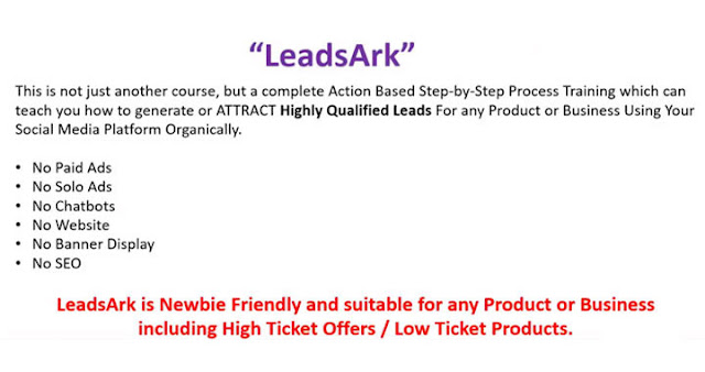 more about leadsark