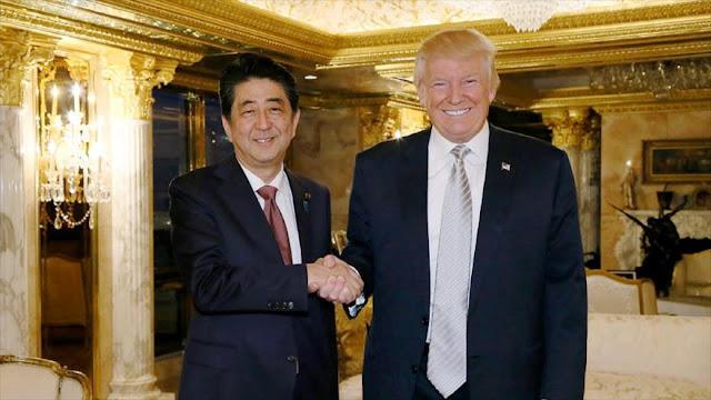 China advierte sobre encuentro entre Trump y premier de Japón