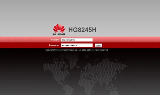 Cara Mengganti Password WiFi Huawei Modem HG8245A