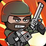 Doodle Army 2 Mini Militia Mega MOD APK v2.2.107 Full Unlocked Terbaru