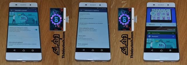 صور للتحديث القادم لهواتف Xperia XA