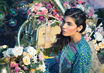 Alkaram blossom lawn print collection 2017