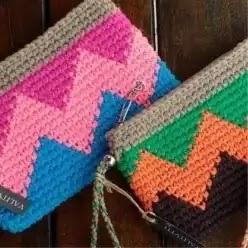 Bolso de Mano Crochet