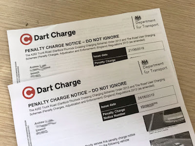 dart charge penalty charge notice