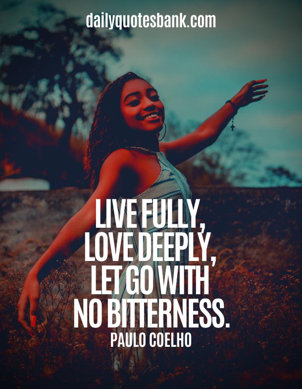 Love Quotes About Letting Go and Moving On To Better Things