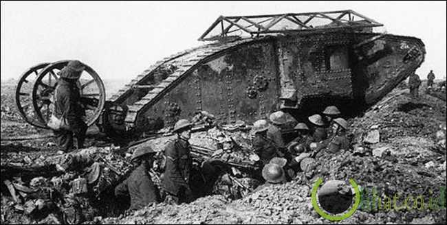 Tank Perang Dunia I (Inggris)
