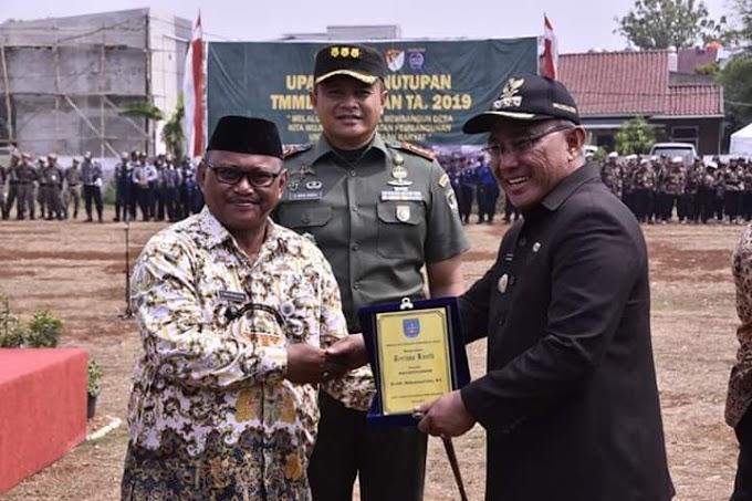 Walikota Imbau Warga Jaga dan Rawat Hasil TMMD Imbangan 2019