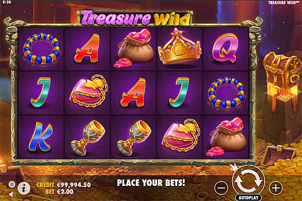 Main Gratis Slot Indonesia - Treasure Wild Pragmatic Play