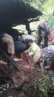 Tanah Longsor di Karangasem, Telan Satu Korban Jiwa