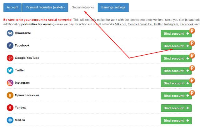 Cómo ganar dinero en el servicio IPweb con redes sociales