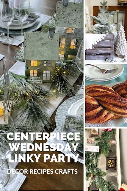 Centerpiece Wednesday Linky Party
