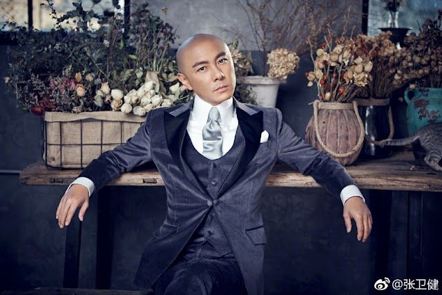Dicky Cheung why bald