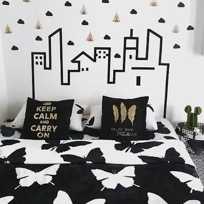 kamar tidur bagus cantik keren
