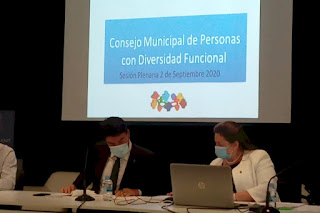 Foto de la presentación del evento