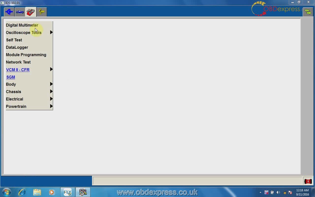 NEW 2019 Ford IDS V112.04 Diagnostic Software for Ford VCM VMware image