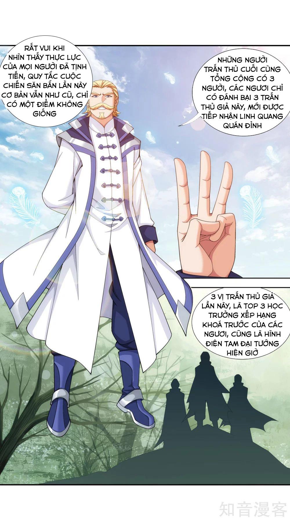 Đại chúa tể chap 142 - Trang 9