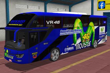 Livery BUS SHD SRIKANDI - VR46
