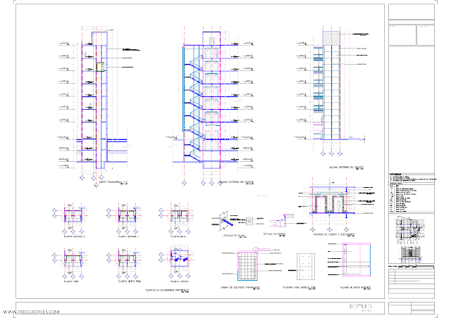 Elevator project DWG