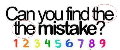 Can you find the the mistake-Answer