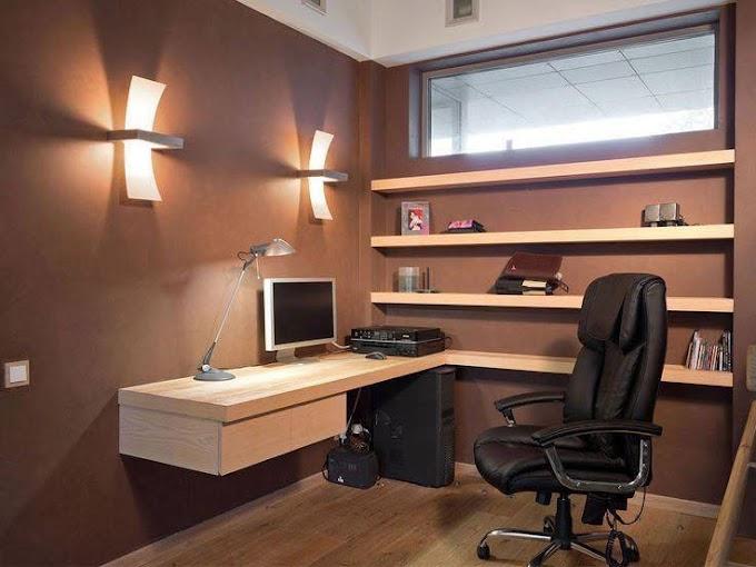 19 Idea Hias Mini Office/ Bilik Bacaan di Rumah ~ Wordless Wednesday
