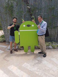 Jorge y Jaime de Jalón iMagen en el Evento Mobile Labs Madrid