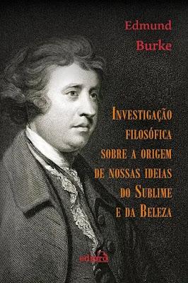 Capa da obra em Investigação filosófica sobre a origem de nossas idéias do sublime e do belo, de Edmund Burke, baixar pdf