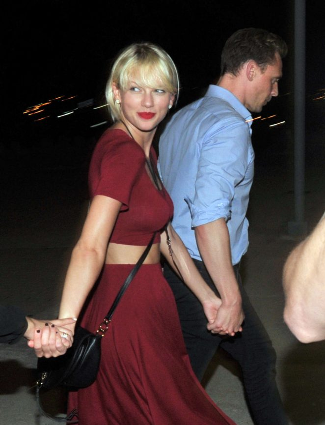 Taylor Swift spotted with Tom Hiddleston after Selena Gomez concert