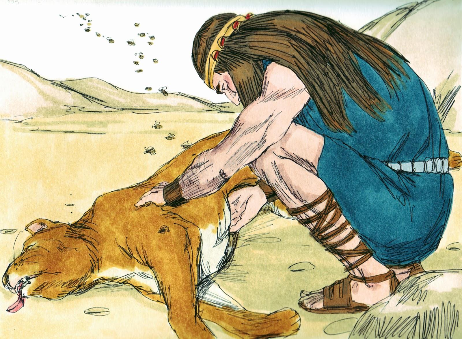 Bible Fun For Kids: Samson Part - 551.4KB