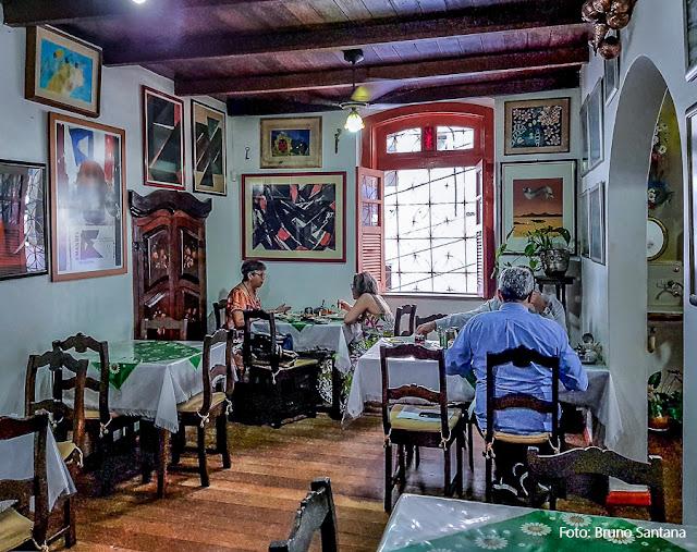 Restaurante Mini Cacique, no Centro Antigo de Salvador