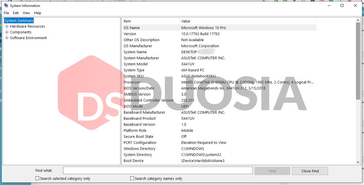 √ 7 Cara Mengetahui Spesifikasi Laptop/PC Tanpa Software Tambahan