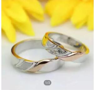 cincin nikah perak | cincin lapis rhodium | cincin emas |cincin palladium |cincin tunangan