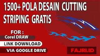 1500+ Desain Cutting Striping Gratis