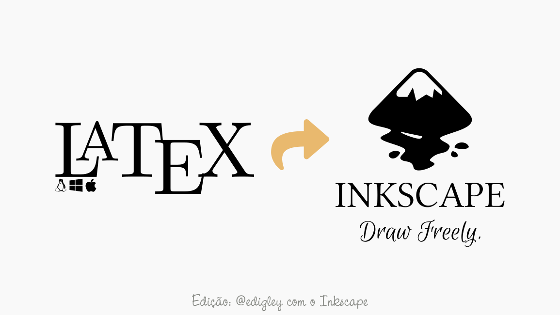 Como inserir equações em Latex no Inkscape para Linux, Mac e Windows?
