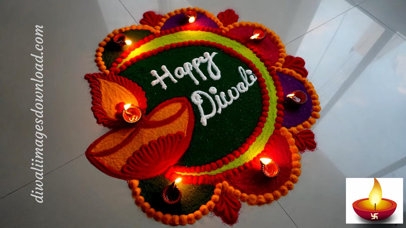 Happy Diwali Rangoli Design 2019