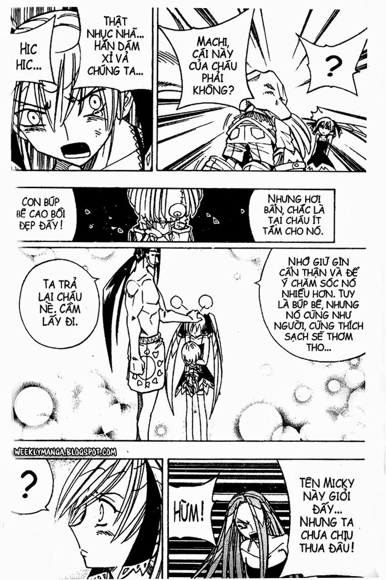 Shaman King [Vua pháp thuật] chap 161 trang 7