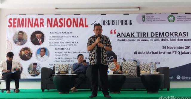 BNPT: Kriteria Radikal Itu Anti-Pancasila-NKRI-Bhinneka Tunggal Ika-UUD'45