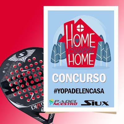 Padel Nuestro y Siux lanzan un concurso anti-coronavirus en Instagram.