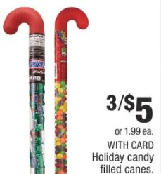 Holiday Candy Filled Canes