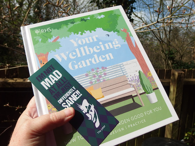 The Wellbeing Garden book from the RHS