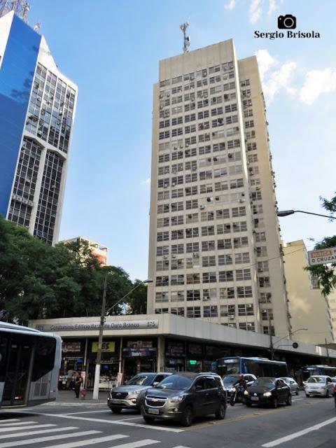 Vista ampla do Edifício Barão de Ouro Branco - Bela Vista - São Paulo