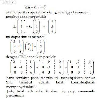 jawaban kombinasi linier no 1b