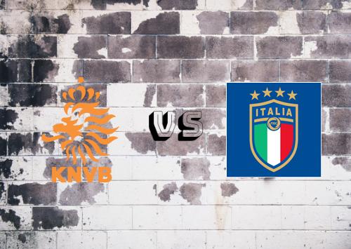 Países Bajos vs Italia  Resumen y Partido Completo