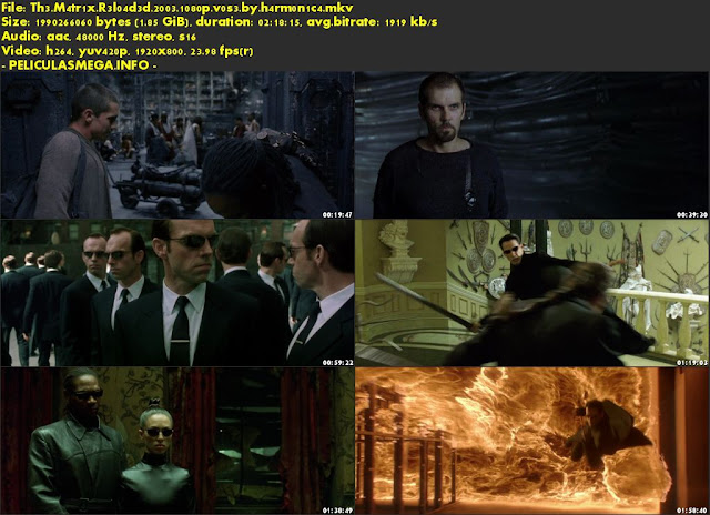 Descargar The Matrix Reloaded Subtitulado por MEGA.