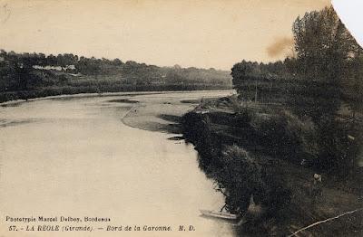 Garonne, Le rouergue, La réole, Plage
