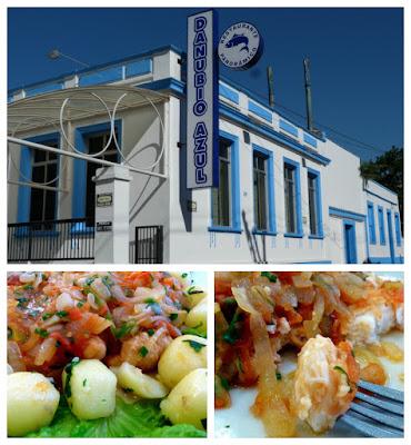 Paranaguá - peixe no Restaurante Danubio Azul